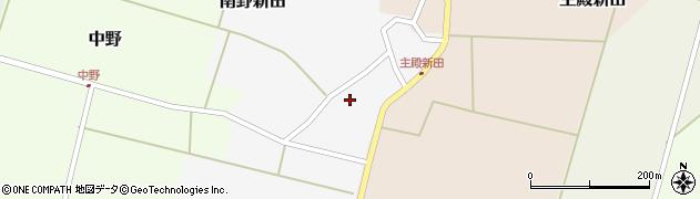 山形県東田川郡庄内町南野新田前割51周辺の地図