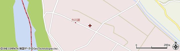 山形県酒田市大川渡五反割40周辺の地図