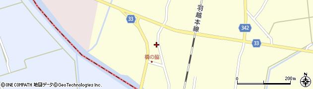 山形県東田川郡庄内町西袋村西56周辺の地図