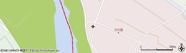 山形県酒田市大川渡五反割94周辺の地図