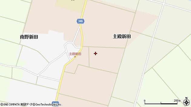 山形県東田川郡庄内町主殿新田前割13周辺の地図