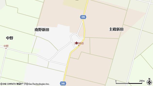 山形県東田川郡庄内町南野新田前割43周辺の地図