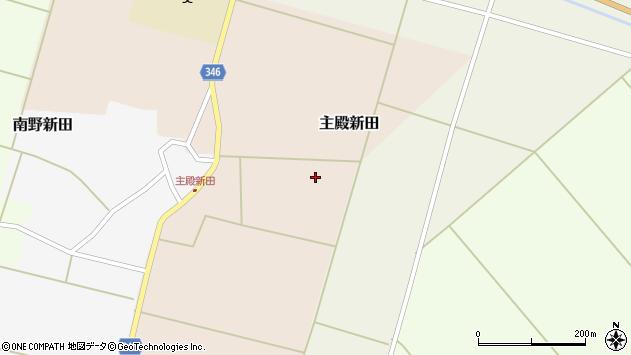 山形県東田川郡庄内町主殿新田前割2周辺の地図