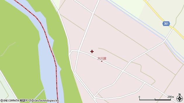 山形県酒田市大川渡五反割74周辺の地図