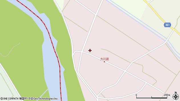 山形県酒田市大川渡五反割84周辺の地図