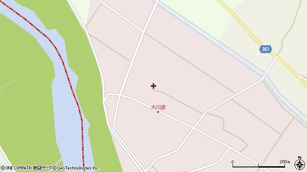 山形県酒田市大川渡下大川渡周辺の地図