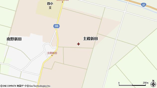 山形県東田川郡庄内町主殿新田北浦15周辺の地図