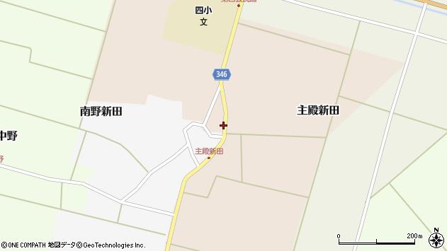 山形県東田川郡庄内町主殿新田北浦43周辺の地図
