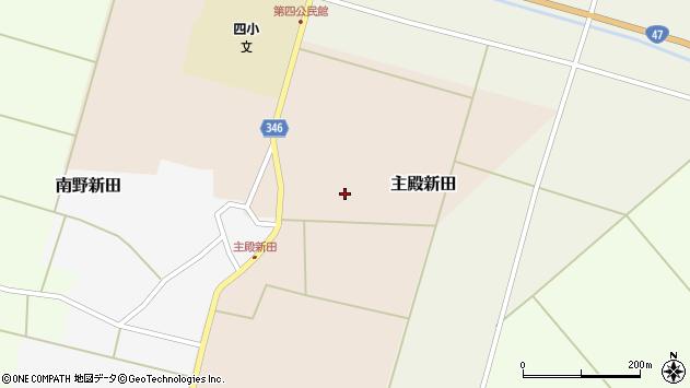 山形県東田川郡庄内町主殿新田北浦19周辺の地図