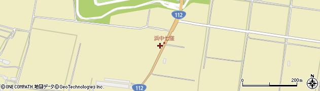 山形県酒田市浜中七窪220周辺の地図