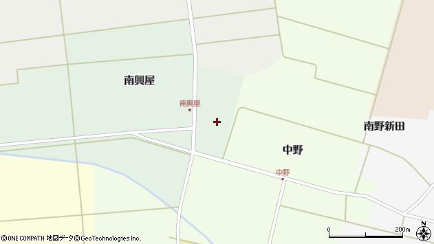 山形県東田川郡庄内町南興屋周辺の地図
