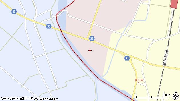 山形県東田川郡庄内町大野大塚14周辺の地図
