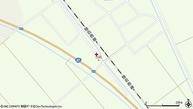 山形県東田川郡庄内町古関土手の下70周辺の地図