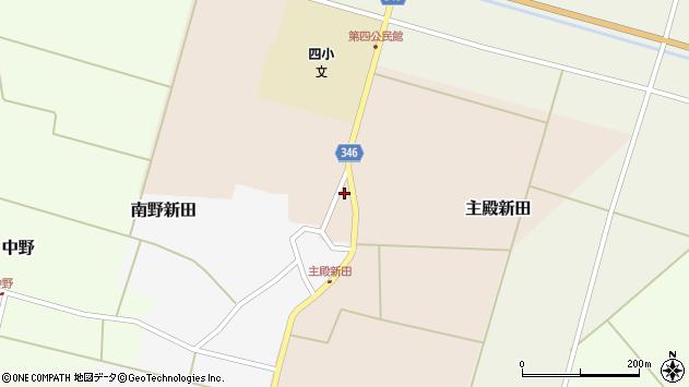 山形県東田川郡庄内町主殿新田北浦75周辺の地図