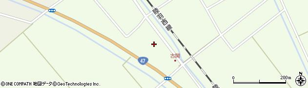 山形県東田川郡庄内町古関土手の下17周辺の地図