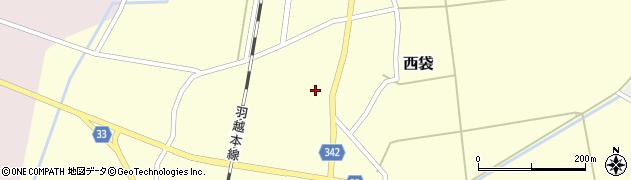 山形県東田川郡庄内町西袋村立51周辺の地図