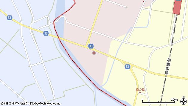 山形県東田川郡庄内町大野大塚1周辺の地図