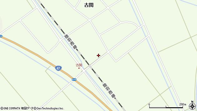 山形県東田川郡庄内町古関古館200周辺の地図