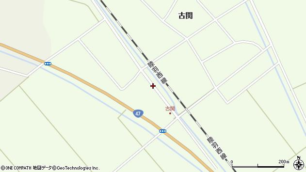 山形県東田川郡庄内町古関土手の下72周辺の地図