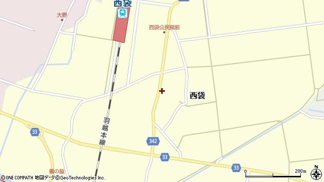 山形県東田川郡庄内町西袋村立48周辺の地図