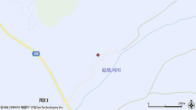 山形県最上郡鮭川村川口14周辺の地図