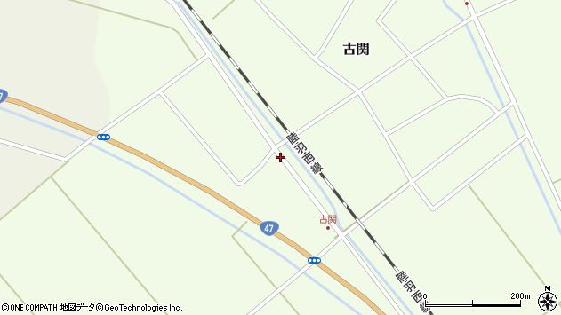 山形県東田川郡庄内町古関土手の下74周辺の地図