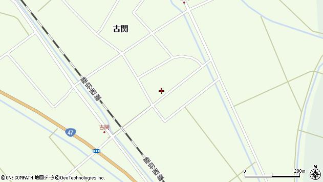 山形県東田川郡庄内町古関古館204周辺の地図