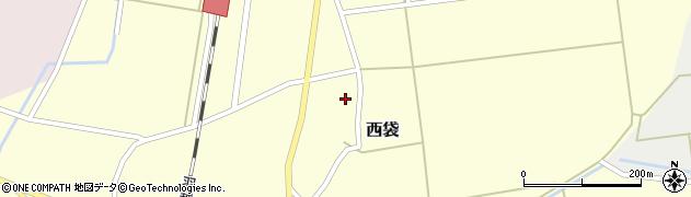 山形県東田川郡庄内町西袋村立38周辺の地図