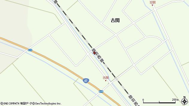 山形県東田川郡庄内町古関古館73周辺の地図