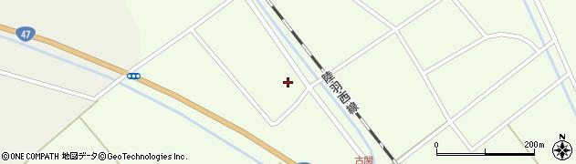 山形県東田川郡庄内町古関土手の下53周辺の地図
