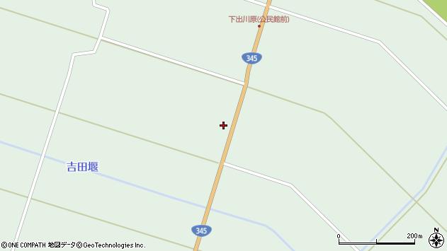 山形県東田川郡庄内町狩川中棚61周辺の地図