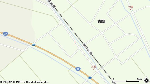 山形県東田川郡庄内町古関土手の下76周辺の地図