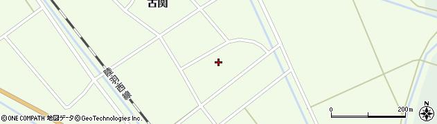 山形県東田川郡庄内町古関古館13周辺の地図