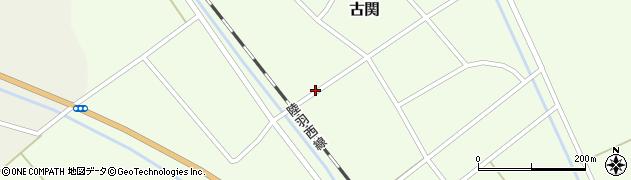 山形県東田川郡庄内町古関古館77周辺の地図