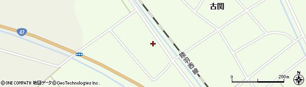 山形県東田川郡庄内町古関土手の下55周辺の地図