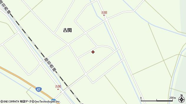 山形県東田川郡庄内町古関古館14周辺の地図