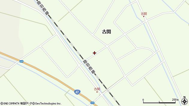 山形県東田川郡庄内町古関古館78周辺の地図