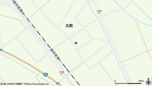 山形県東田川郡庄内町古関古館49周辺の地図