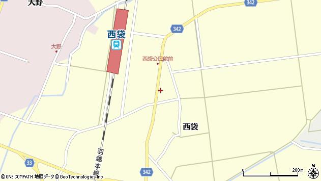 山形県東田川郡庄内町西袋深51周辺の地図