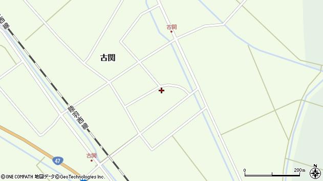 山形県東田川郡庄内町古関古館20周辺の地図