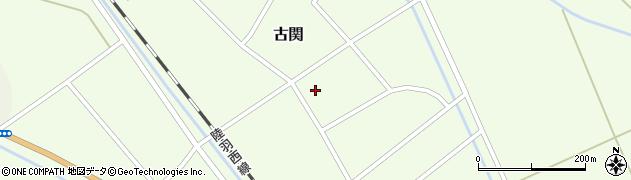 山形県東田川郡庄内町古関古館50周辺の地図