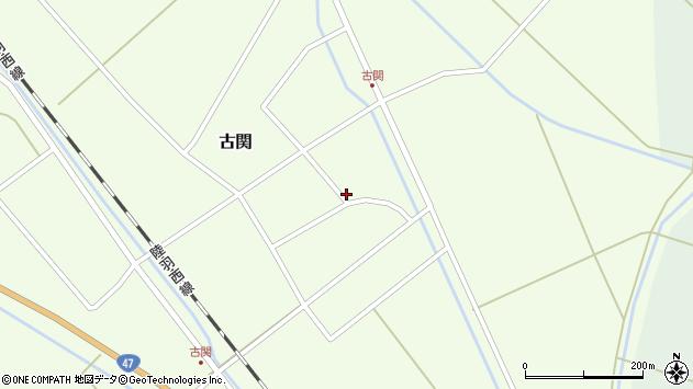 山形県東田川郡庄内町古関古館33周辺の地図