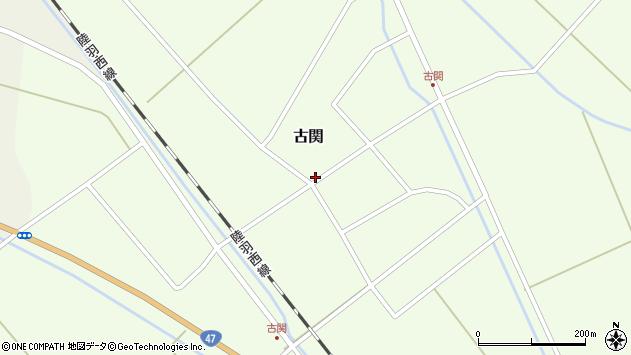 山形県東田川郡庄内町古関古館102周辺の地図