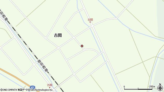 山形県東田川郡庄内町古関古館32周辺の地図