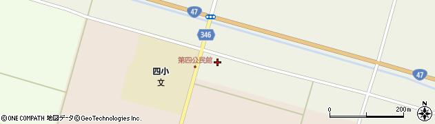 山形県東田川郡庄内町南野十八軒周辺の地図