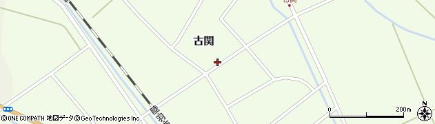 山形県東田川郡庄内町古関古館104周辺の地図