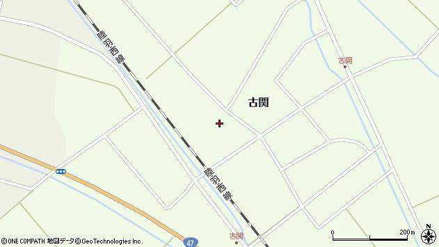 山形県東田川郡庄内町古関古館87周辺の地図