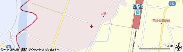 山形県東田川郡庄内町大野太農14周辺の地図