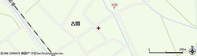 山形県東田川郡庄内町古関古館29周辺の地図