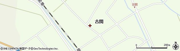 山形県東田川郡庄内町古関古館174周辺の地図